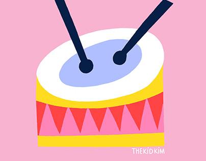 Snazzy Jazzy instruments