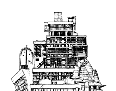 Pâté architectural n°1 : Le Corbusier
