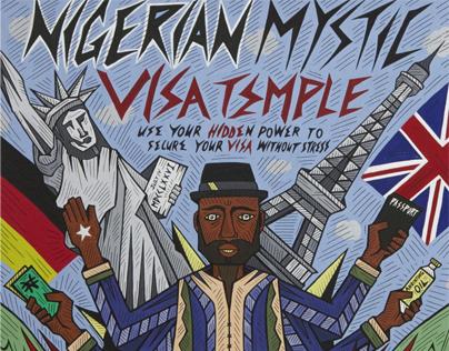 Lagos Drawings 1