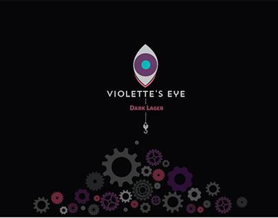 beer package design//Violette's eye