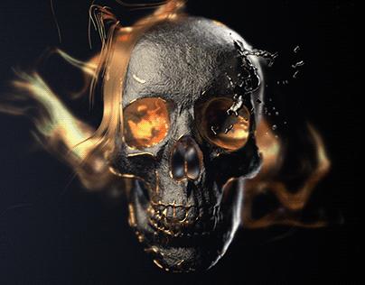 Skull Project (Houdini)