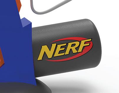 NERF INSPIRED PALM SANDER