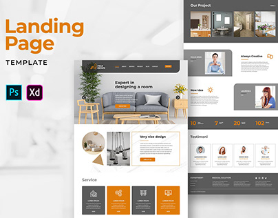 Landing Pages – Room Design Services