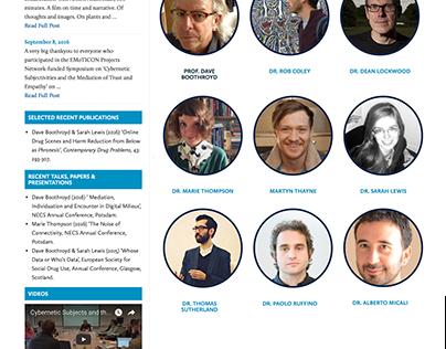 Responsive Website Design, CEMR University of Lincoln