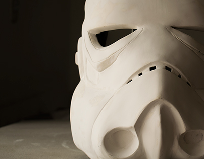 WIP Stormtrooper helmet