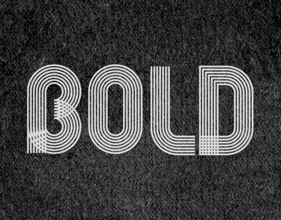 BE LINES Typeface