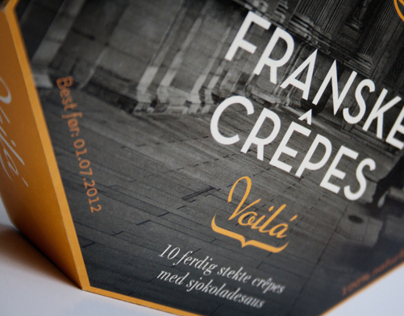 Franske Crêpes, packaging
