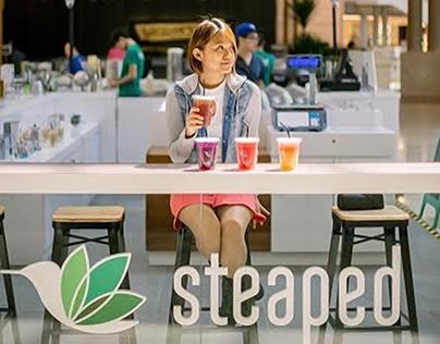 Tea and beverage retail kiosk design, Pavilion