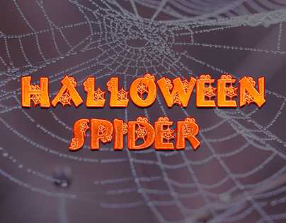 Halloween Spider Free Font
