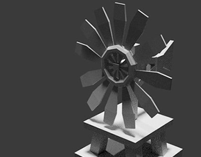 BUILDING 3D - WINDMILL