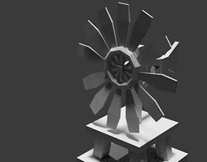 BUILDING 3D - WINDMILL