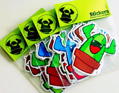 #cactusclan stickers.