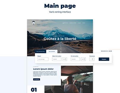 Alpes Road   UX/UI   Brand Identity