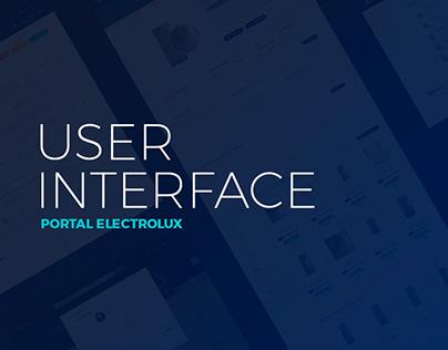 UI/UX Portal da Electrolux