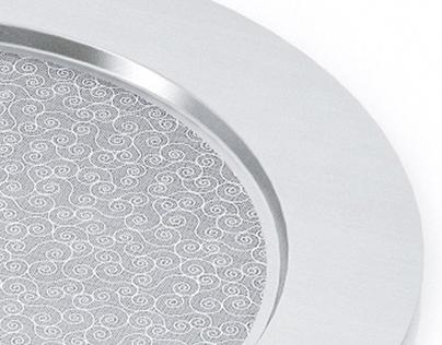 3d model of Alessi Disco Cesellato tray