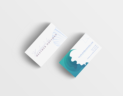 Heather Hoffman Jewelry Business Card Concept