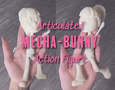 Mecha-Bunny: Clue Engineering (Part 2 - Z-Brush Model)