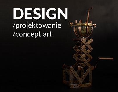DESIGN/CONCEPT ART