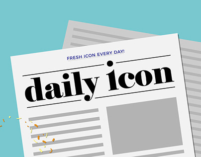 daily icon - concept & branding
