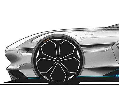 Renault Shooting brake - Internship project