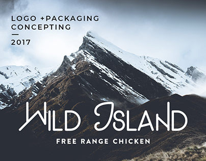 Wild Island . Logo + Packaging Concepts