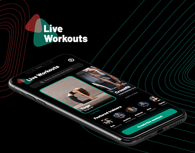 Live Workouts | UI/UX Design