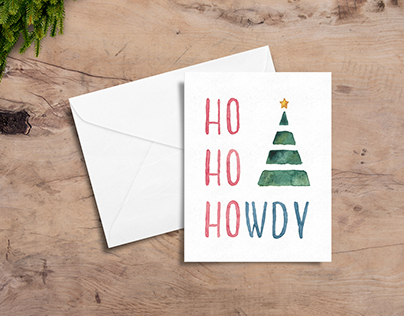 Texas Holiday Cards