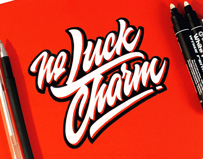 Lettering sketches / 2016