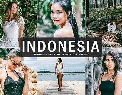 Free Indonesia Mobile & Desktop Lightroom Preset