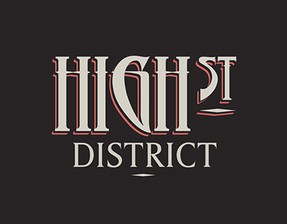 High St District Typography