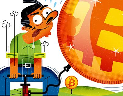 """Bursts"" the Bitcoin bubble?"