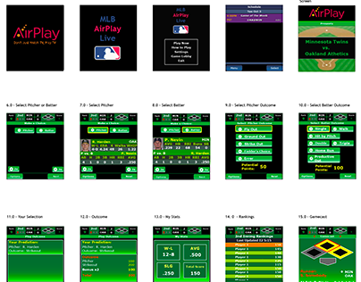 Airplay Baseball J2ME Concept