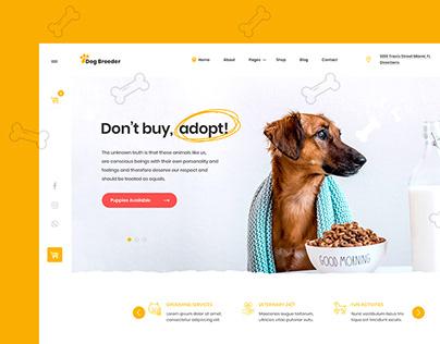 Dog Breeder & Adoption Template Kit