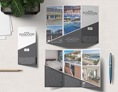 Poseidon tri fold brochure