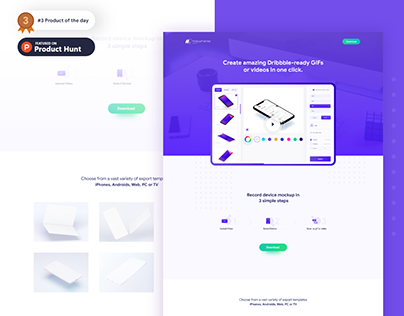 Promote App Adobe XD Free Ui Kit on Behance