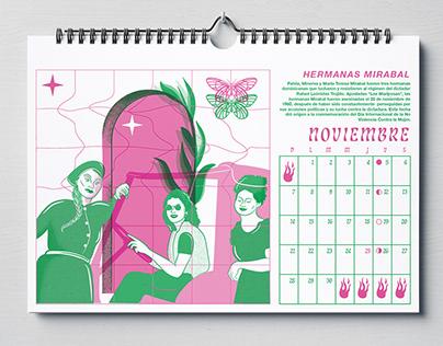 Calendario Feminista & Sudaka 2021