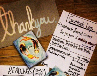 Gratitude Log Covers