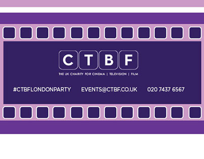 CTBF London Party Email Design