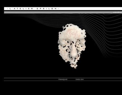 Webdesign - site HTML pour l'Atelier Epsilon