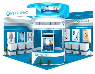Booth conception in 3D