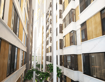 Real Estate 3d Rendering 房地产广告