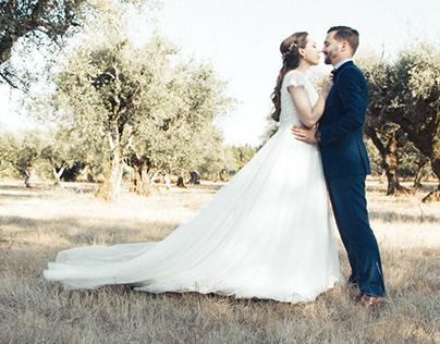 O casamento...
