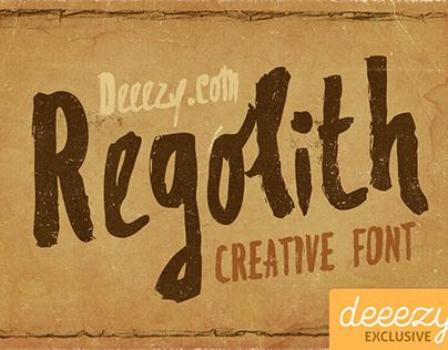 Regolith Font by Deeezy Team