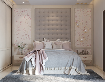 teenager girl bedroom design on Behance