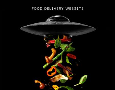 Eatrix. Food delivery website