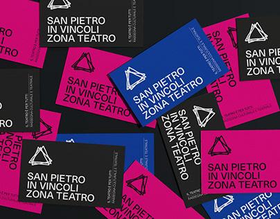 SAN PIETRO IN VINCOLI ZONA TEATRO - Branding