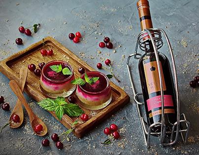 Этикетка для вина Velvet Season TM Fanagoria