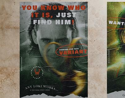 Poster Series: Loki - The God Of Mischief