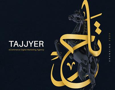 Tajjyer Identity | eCommerce Agency Branding