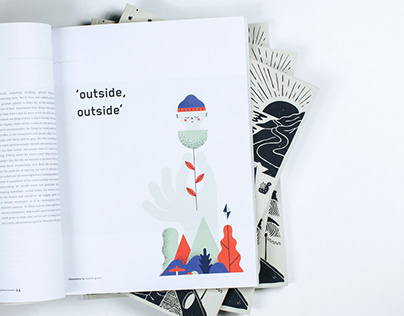 The Rolling Home Journal Illustrations